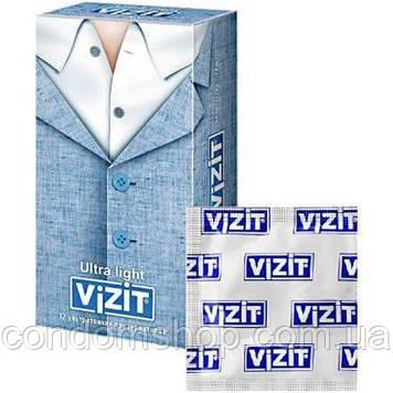 Презервативы VIZIT hi-tech Ultra light Ультратонкие 12 шт