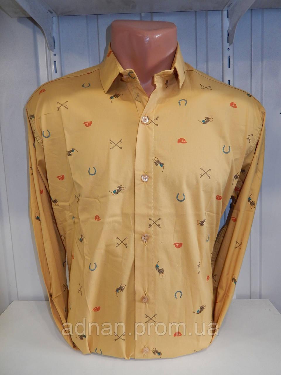 b8232d039f17777 Рубашка мужская POLO узор на фото, стрейч 004/ купить мужская рубашка оптом