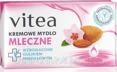 VITEA мыло кусковое 100 Миндальное молочко