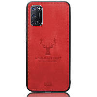 Чехол Deer Case для Oppo A52 / A72 / A92 Red