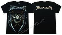 MEGADETH (череп с кинжалами) - футболка Таиланд