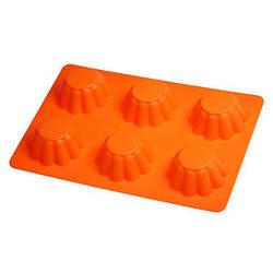 Силіконова форма для випічки кексів Empire-EM9825, 255x180x30 мм