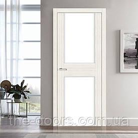 Двері Оміс Cortex Gloss 03 ПО триплекс молочний