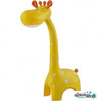 Настольный детский светильник MARTY. желтыйLED светильник. Светодиодный светильник настольный.