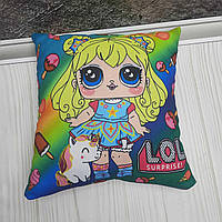 Подушка детская Куклы LOL