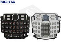 Клавиатура для Nokia Asha 200, оригинал (черная)