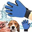 Перчатка для вычесывания шерсти True touch, фото 5