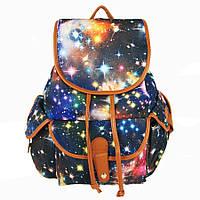 Рюкзак женский с принтом Космос
