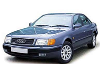 Реснички на фары Audi 100 (A 6) C4 (1990-1998)