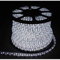 LED Дюралайт 3WAY 72шт/м, 2.88W/m, белый, квадратный