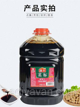 Соєвий соус світлий (легкий) 10,5 л tm Haday, фото 2