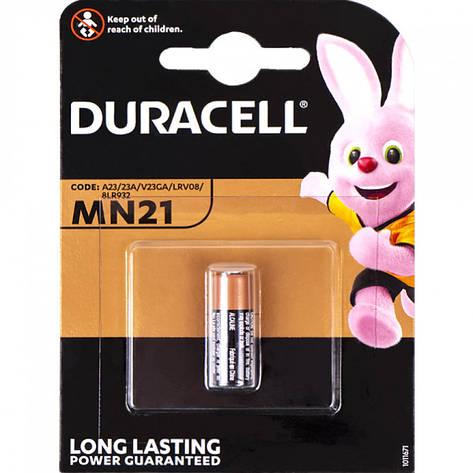 """Батарейка Duracell """"міні бочонок"""" MN21, фото 2"""