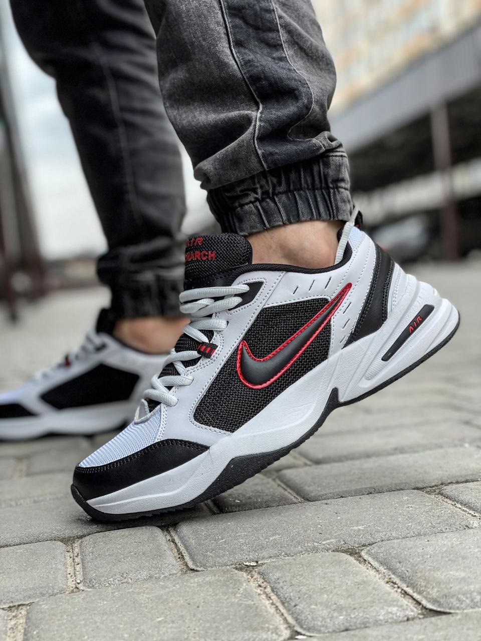 Мужские кроссовки Nike Air Monarch / чоловічі кросівки Найк Монарх (Топ реплика ААА+)