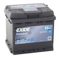 EXIDE 6СТ-53 АзЕ PREMIUM EA530 Автомобильный аккумулятор, фото 2