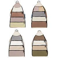 Женский городской рюкзак-сумка из натуральной кожи LT 5617 summer mix (fb)