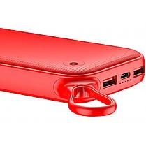 Портативная батарея Baseus Powerful Power Bank 20000mAh  PPKC-A09 Red, фото 3