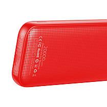 Портативная батарея Baseus Powerful Power Bank 20000mAh  PPKC-A09 Red, фото 2