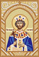Схема на ткани для вышивания бисером Св. Равноап. Царь Константин РИК-6039