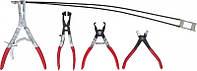 Набор плоскогубцев для автомобильных хомутов KS Tools Германия