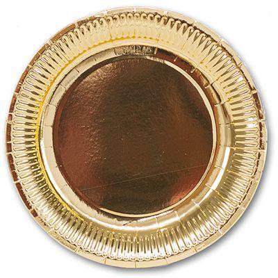 "Паперові тарілки великі ""Light Gold"" (10 шт.)"