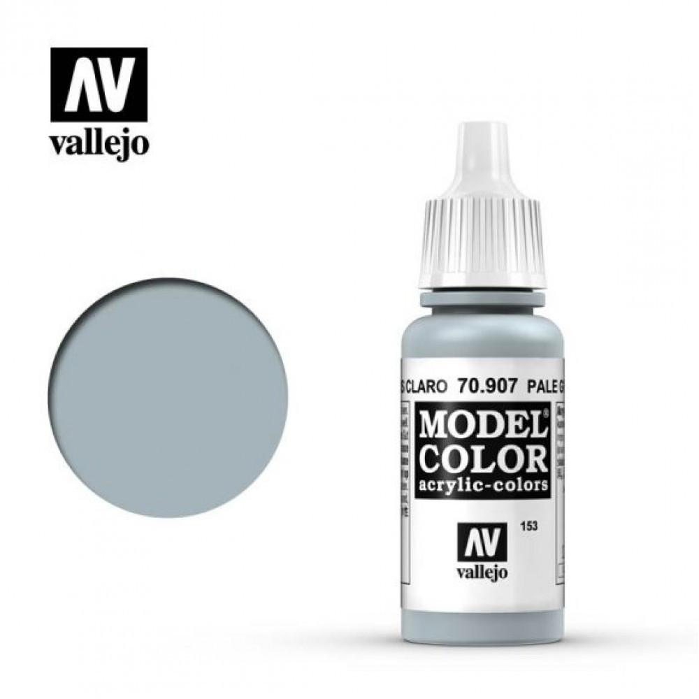 Vallejo Model Color Pale Grey Blue
