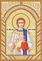 Схема на ткани для вышивания бисером Св. Апостол Архидиакон Стефан (Степан) РИК-6059