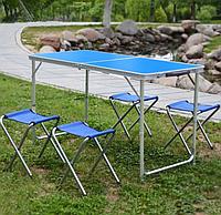 Стол Складной И 4 Стула Для Кемпинга Folding Table