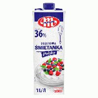 Вершки кондитерські молочні Smetanka 36% MLEKOVITA