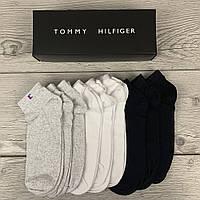 Набор мужских носков Tommy Hilfiger, Томми Хилфигер 9 пар в подарочной упаковке видео обзор