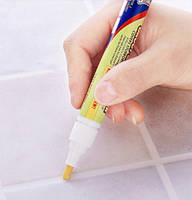 Карандаш для удаления грибка, отбеливания швов плитки на кухне и в ванной Grout-Aide, Grout & Tile Marker