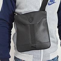 Мужская черная сумка Puma, через плечо