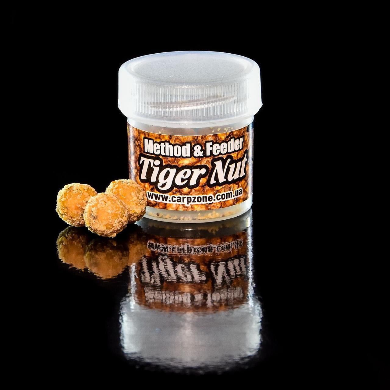 Бойлы насадочные пылящие Boilies Method & Feeder series Soluble Tiger Nut (Тигровый орех) 11mm/10pc