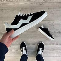 Мужские черные кроссовки Horoso демисезонная легкая спортивная обувь стильные кросы для мужчин