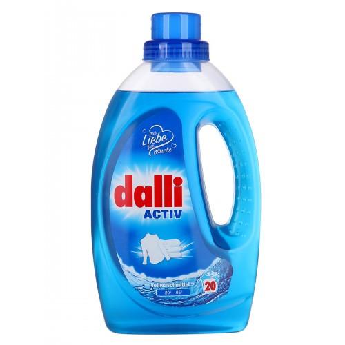 Dalli Activ - универсальный концентрированный гель для стирки белья, 1,1 л