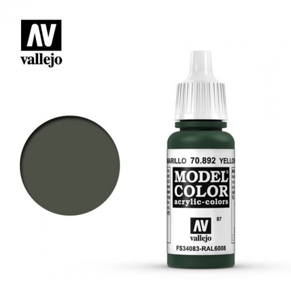 Vallejo Model Color Yellow Olive