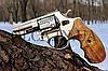"Револьвер Zbroia PROFI 3"" (сатин / бук) под патрон флобера 4мм, фото 2"