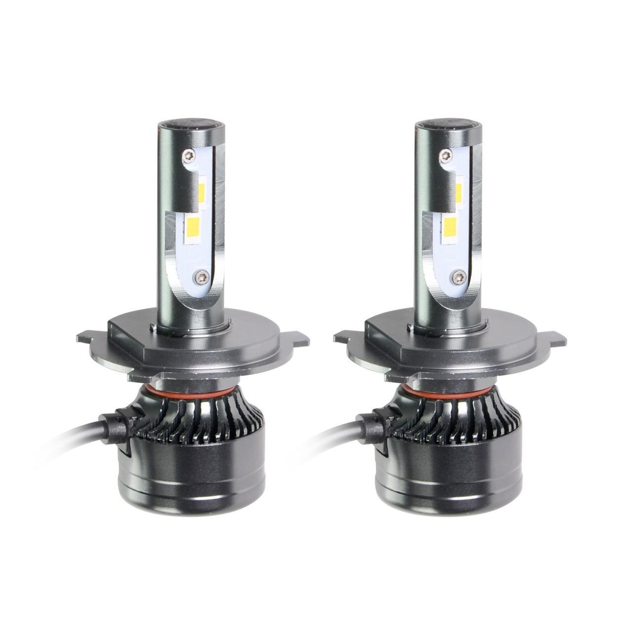 Светодиодные LED лампы MLux Orange Line H4, 28 Вт, 4300°К