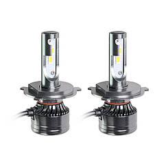 Світлодіодні LED лампи MLux Orange Line H4, 28 Вт, 4300°До