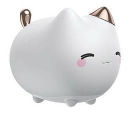 Портативный ночник BASEUS Cute series kitty silicone night light. Детский силиконовый ночник на аккумуляторе