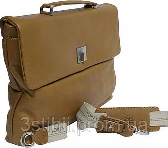 Портфель Tony Perotti Contatto 9160-35-Ct cuoio Светло-коньячный