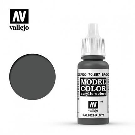 Vallejo Model Color Bronze Green, фото 2