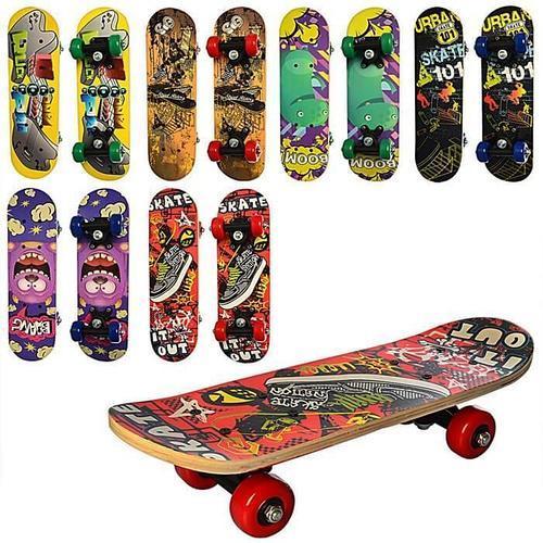 Скейт Дитячий Skate 43 див. Скейтборд для дітей 43см.