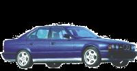 Реснички на фары BWM 5-серии E34 (1988-1995)