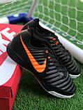 Футбольні Футзалки Nike Tiempo бампы найк темпо футбольна взуття для спорту, фото 3