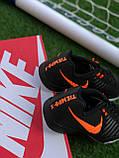 Футбольні Футзалки Nike Tiempo бампы найк темпо футбольна взуття для спорту, фото 7