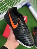 Футбольні Футзалки Nike Tiempo бампы найк темпо футбольна взуття для спорту, фото 2