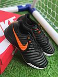 Футбольні Футзалки Nike Tiempo бампы найк темпо футбольна взуття для спорту, фото 4