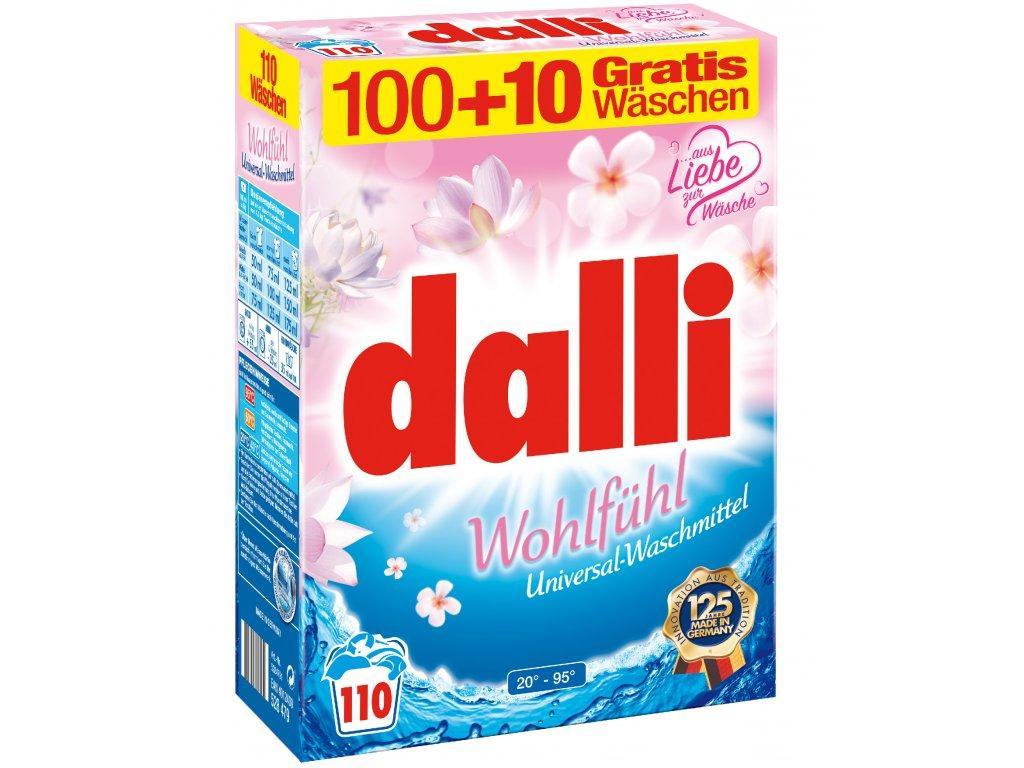 Пральний порошок DALLI Wohlfuhl з квітковим ароматом 110 прань 7,15 кг