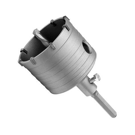 Сверло корончатое SDS-PLUS по бетону 110 мм, фото 2