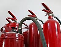 Виды и типы  огнетушителей